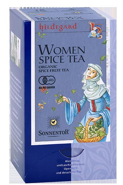 女性のためのお茶のイメージ