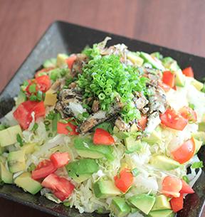 オイルサーディン白菜サラダのイメージ