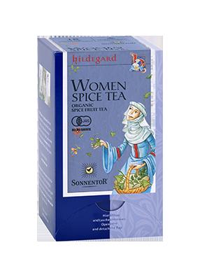 女性のためのお茶の画像