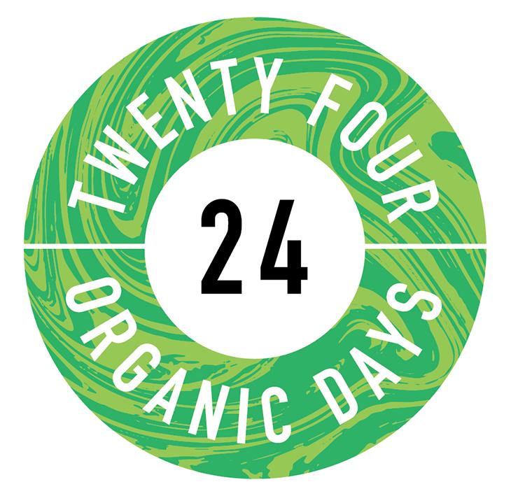 24 ORGANIC DAYSのロゴ